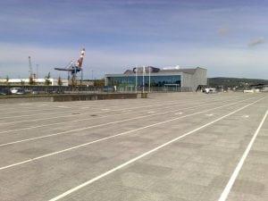 ColorLine-terminalen i Larvik 3