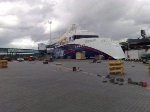 ColorLine-terminalen i Larvik 2