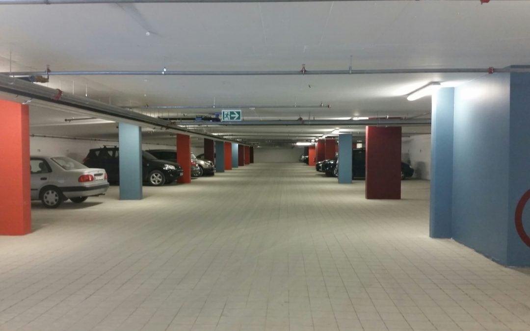 Grilstad Marina, parkeringsgarasje