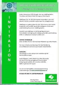 AE Invitasjon Lintho Steinmiljø AS